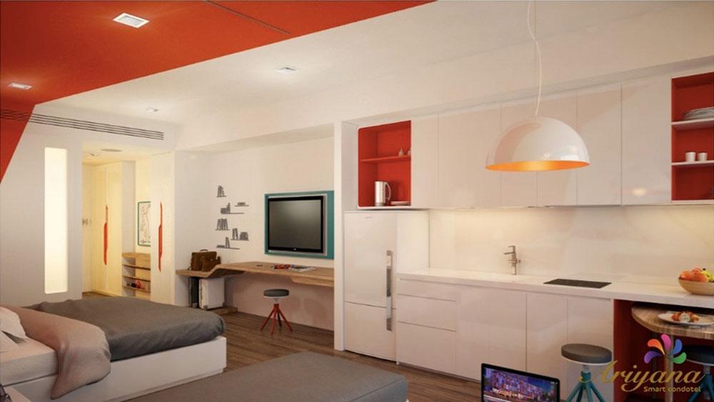 Thiết kế căn hộ Ariyana Nha Trang